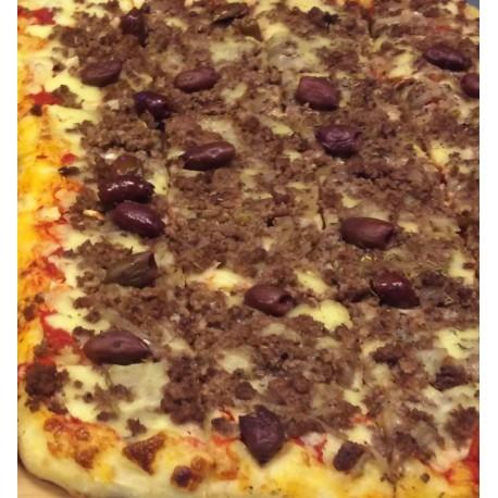 Pizza Canibale en plaque (30x40cm) 48 portions