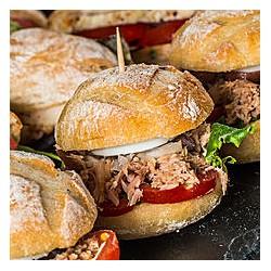 Mini Sandwich Pan bagnat