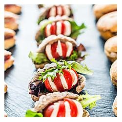 Mini Sandwich Tomate Mozzalla