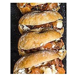 Mini Sandwich Tartare Saumon