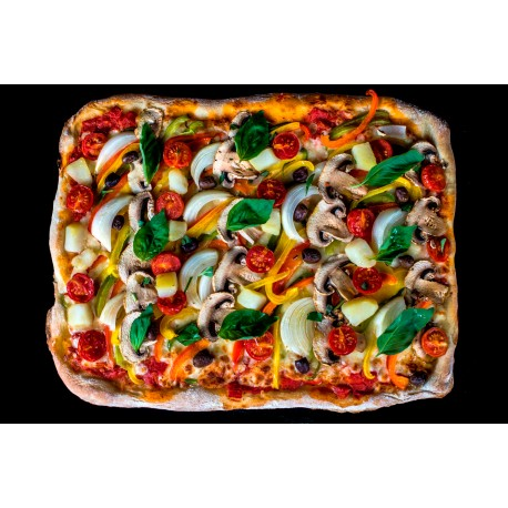 Pizza Legumes en plaque (30x40cm) 48 portions