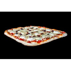 Pizza 3 Fromages en plaque (30x40cm) 48 portions